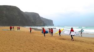 Kurs surfingu naportugalskiej trasie Rota Vicentina-Aktualności 1