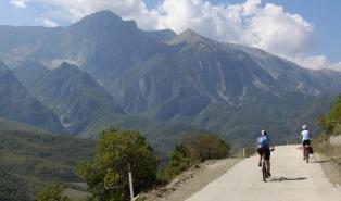 wyprawa rowerowa Albania