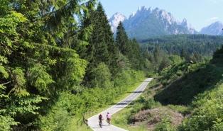 podróże rowerowe Austria