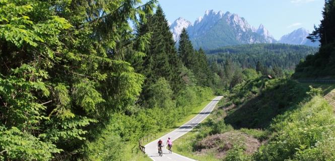 podróż rowerowa Alpe Adria – transalp zSalzburga doGrado naAdriatykiem