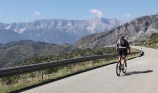 podróże rowerowe Albania