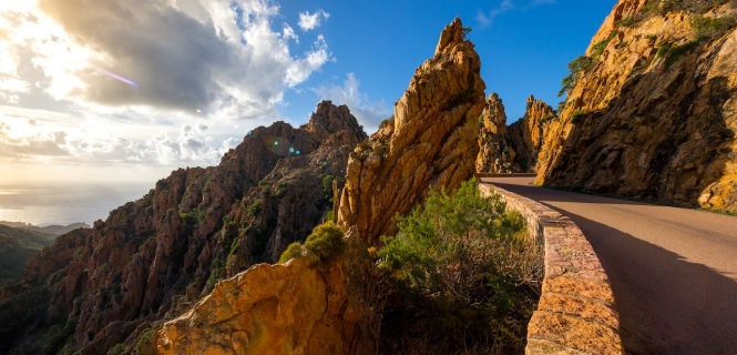 podróż rowerowa Korsykańskie Vertigo
